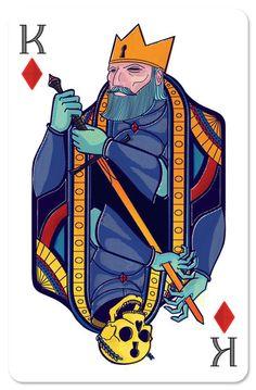 King of Diamonds. Confira aqui o maravilhoso baralho do Projeto 54 – 2013