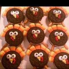Turkeys for kid snack