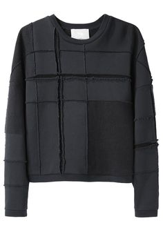 3.1 Phillip Lim / Tromp L'Oeil Plaid Sweatshirt