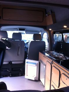 The finished interior
