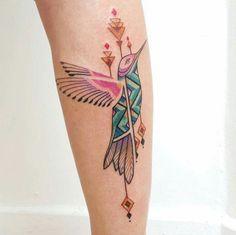 Colibrí tatto