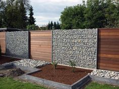 15 Fascinating Modern Fence Ideas To Style Your Backyard - Residential Design - . - 15 Fascinating Modern Fence Ideas To Style Your Backyard – Residential Design – 15 Fascinating - Diy Privacy Fence, Privacy Fence Designs, Backyard Privacy, Backyard Fences, Garden Fencing, Privacy Screens, Backyard Landscaping, Stone Patio Designs, Backyard Designs