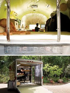 Tiny Modern Airstream Abode