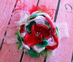 M2M Matilda Jane Good Hart Strawberry Flower by AppelillyCouture, $26.00