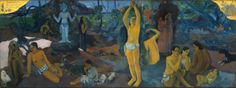 Paul Gauguin -  Where do we come from, what are we, where are we going