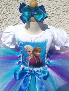 Frozen Birthday Outfit, Frozen Birthday Cake, Frozen Theme Party, Birthday Tutu, Princess Birthday, 3rd Birthday, Frozen Elsa And Anna, Elsa Anna, Tutu Outfits