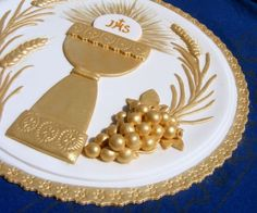 Communion cake decoration idea