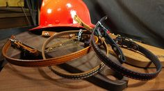 Stitched Leather Fire Helmet Chin Strap (In Stock) Helmet Band, Fire Helmet, Firefighting, Stitching Leather, Suspenders, Hats, Hat, Braces, Fire Fighters