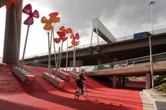 Public Spaces Under Highways and Freeways | Sustainable Cities Collective