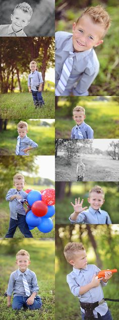Bring Christian's cap gun for 3rd bday shoot