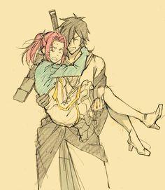 Rokurou & Eleanor (Tales of Berseria)