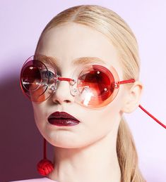 Pearcy Lau Eyewear via Optical Vision Resources