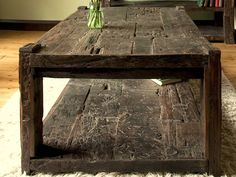 Ashburnham Sleeper Wood Coffee Table