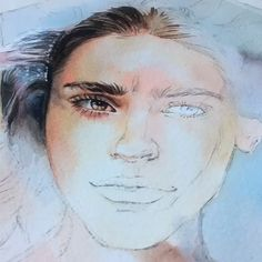 Portrait Watercolor Painting Tutorial Draw Paint - Sites new Watercolor Portrait Tutorial, Acrylic Portrait Painting, Watercolor Painting Techniques, Watercolor Portraits, Portrait Art, Watercolor Paintings, Painting Tutorials, Watercolor Trees, Painting Abstract
