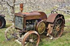 My grandparents had one of these old rusty tractors on their farm