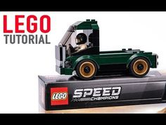 Speed Build and Free building instructions tutorial for custom design LEGO SpeedChampions Ford Mustang 75884 set alternative build model TRUCK Lego Speed Champions, Lego Vehicles, Movies To Watch Online, Lego Design, Lego Projects, Lego Moc, Lego Instructions, Lego Ideas, Lego Creations