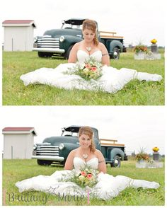 Romantic and Rustic Farm Wedding Idea from Brittany Marie Photography