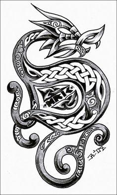 dragão celta - Pesquisa Google