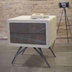 Emodi Oak Side Table - Mid Century Modern Side table