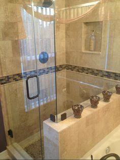 Image Of Custom shower in Tampa Florida This is part of a custom bathroom remodeling project our pany pleted
