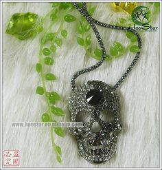 Girl Lady skull Necklace jewelry