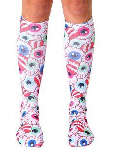Unisex Pink Pig Pattern Knee High Compression Thigh High Socks Soccer Tube Sock