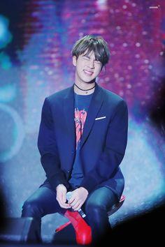 He's so cute oh my gosh #Jin #Bts