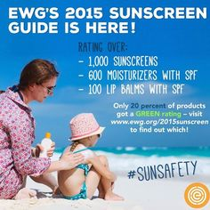 Want a great guide to check out whether your favourite sunscreen and beauty products are safe and non-toxic? I highly recommend checking out the Environmental Working Group website to see how your products rate! Get to know what actually is in all of those products. Most have harmful ingredients such as parabens, benzones etc. which can mimic hormones like estrogen and cause problems! #sunsafety #beauty #ewg #sunscreen #green #nontoxic #chemicalfreeplease