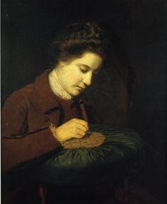 Sir Joshua Reynolds - Mary, Duchess of Richmond; Creation Date: 1764; Medium: Oil on canvas