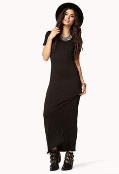 Short Sleeve Maxi Dress | FOREVER 21 - 2040496467