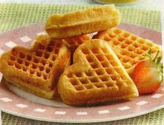 Cookies Homemade Cups 23 Ideas For 2019 Waffle Recipes, Snack Recipes, Cooking Recipes, Snacks, Indonesian Desserts, Indonesian Food, Indonesian Recipes, Yummy Waffles, Pancakes And Waffles