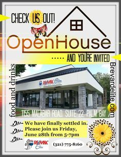 Open House for our Palm Bay office!   www.brevardelite.com