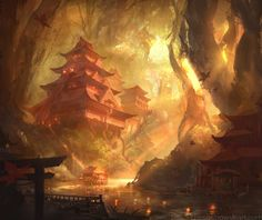 Temple Of Serenity by najtkriss on DeviantArt