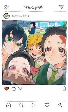 Read Kimetsu No Yaiba / Demon slayer full Manga chapters in English online! Demon Slayer, Slayer Anime, Anime Angel, Anime Demon, Cute Anime Wallpaper, Photos, Pictures, Cute Art, Anime Art
