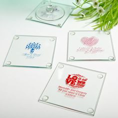 Personalized+Glass+Coasters:+Exclusive+Designs+for+All+Occasions+&+Seasons