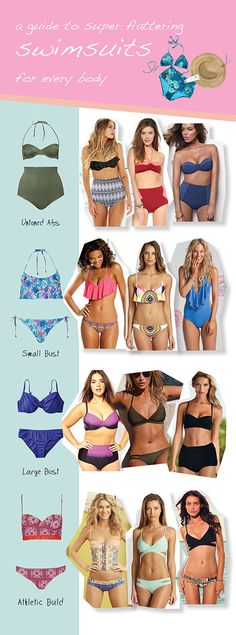 How To Choose The Most Flattering Bathing Suit + Swimwear Care Tips #cuteswimsuit