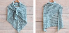 Crochet a Spring Scarf - Free Crochet Pattern - Yarnplaza | For knitting & crocheting