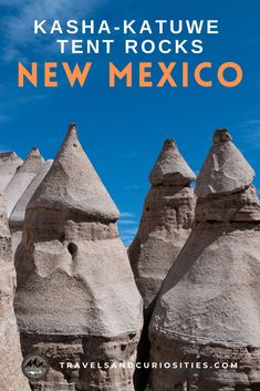 Explore this New Mexico hidden gem, Kasha-Katuwe Tent Rocks, a great hiking destination and must-see spot when visiting the Land of Enchantment. * New Mexico travel | New Mexico things to do | New Mexico road trip ideas | Kasha-Katuwe Tent Rocks Santa Fe | tent rocks New Mexico | Santa Fe things to do | best hikes in New Mexico | hikes in New Mexico | Santa Fe New Mexico hikes | unique sites New Mexico | unique travel destinations | unique places New Mexico