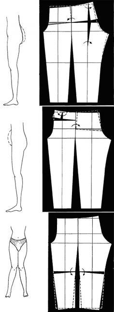 Easy Sewing Patterns, Sewing Tutorials, Clothing Patterns, Sewing Pants, Sewing Clothes, Plus Size Sewing, Sewing Lessons, Couture Sewing, Pants Pattern
