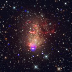 "A Starburst with the Prospect of Gravitational Waves More than a hundred years after Swifts discovery of the ""starburst"" galaxy IC 10 astronomers are studying IC 10 with the most powerful telescopes of the 21st century."