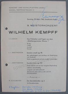 KEMPFF, Wilhelm