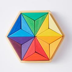 Create Picture, Op Art, Wooden Frames, Solid Wood, Cube, Hand Painted, Colours, Stars, Crafts