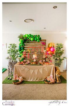 Modern Safari party theme