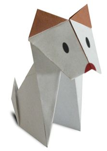 Origami Dog Site has animation showing how to fold, when to fold. Great Site!