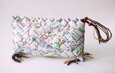 Vem eM handmade metro purse-handbag
