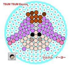 Eeyore Perler Bead Pattern