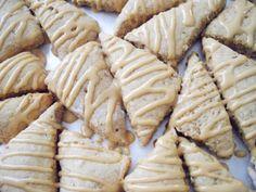 Овсяное печенье с глазурью капучино