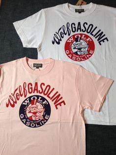 ガンズからプリントTシャツのWolf Gasoline Tシャツが入荷しました。本体価格¥2,900