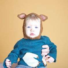 Oeuf Monster Sweater 110