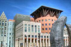 The Denver Public Library in Denver, Colorado,